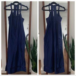 Calypso Braided Neck Maxi Dress